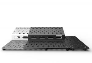 Holeyboard 123 Complete Silverhammer & Black