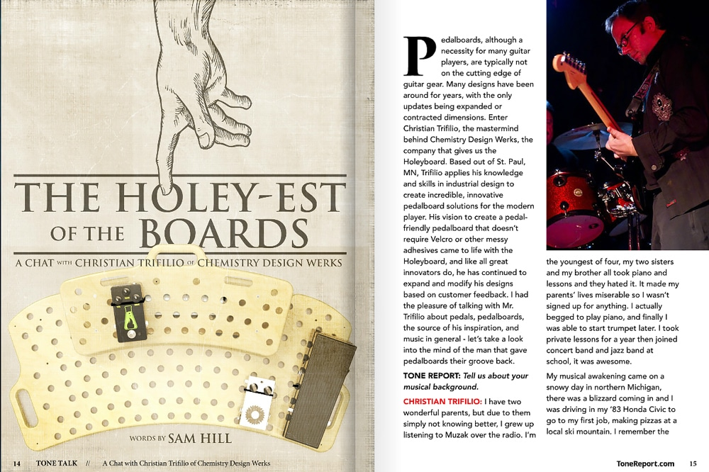 Tone Report The Holey-est of the Boards