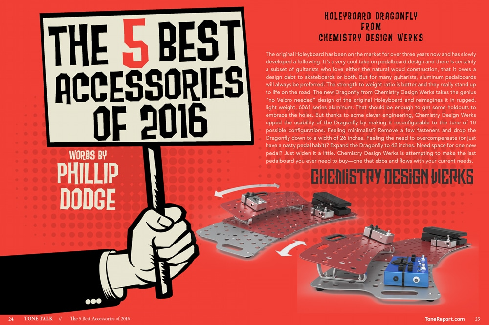 Tone Report The 5 Best Accessories of 2016
